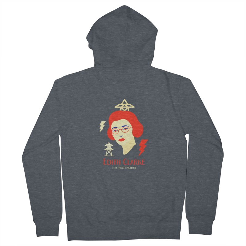 Edith Clarke Women's Zip-Up Hoody by Jana Artist Shop