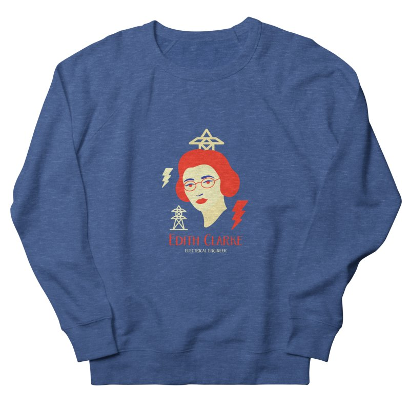 Edith Clarke Women's Sweatshirt by Jana Artist Shop