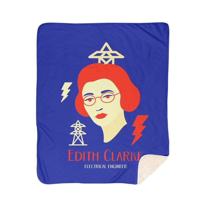 Edith Clarke Home Sherpa Blanket Blanket by Jana Artist Shop