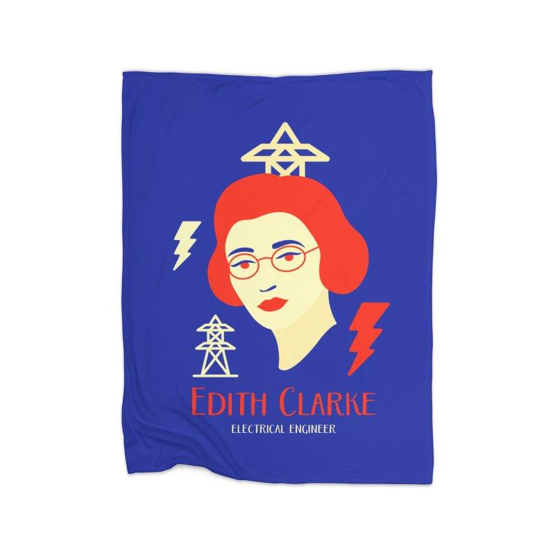Edith Clarke Home Blanket by Jana Artist Shop