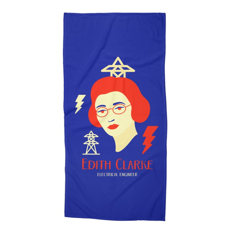 Edith Clarke Accessories Beach Towel by Jana Artist Shop