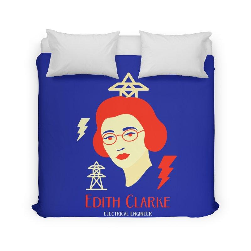 Edith Clarke Home Duvet by Jana Artist Shop