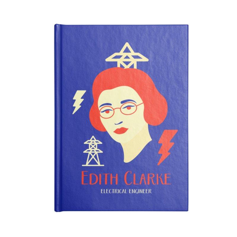 Edith Clarke Accessories Blank Journal Notebook by Jana Artist Shop
