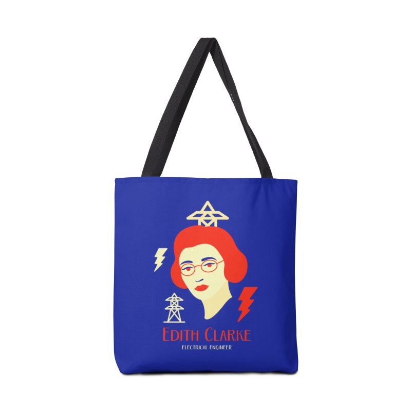 Edith Clarke Accessories Tote Bag Bag by Jana Artist Shop