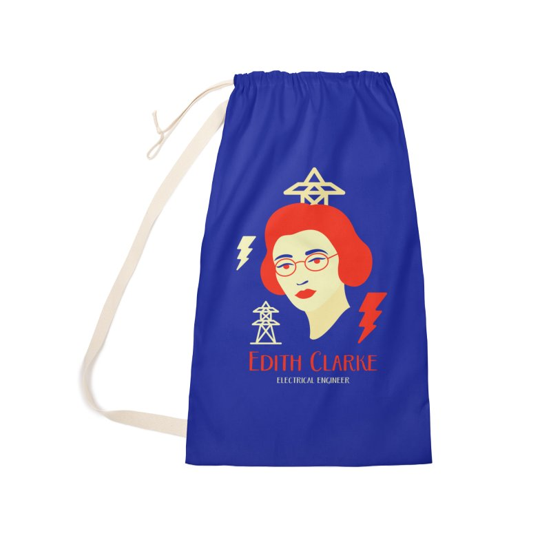 Edith Clarke Accessories Laundry Bag Bag by Jana Artist Shop