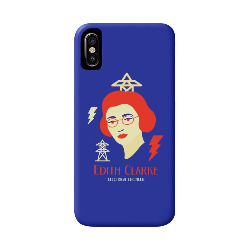 Edith Clarke Accessories Phone Case by Jana Artist Shop