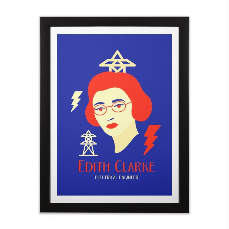 Edith Clarke Home Framed Fine Art Print by Jana Artist Shop