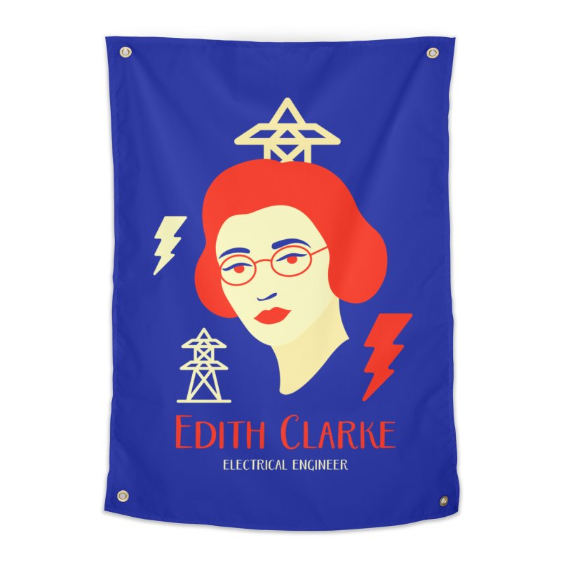 Edith Clarke Home Tapestry by Jana Artist Shop