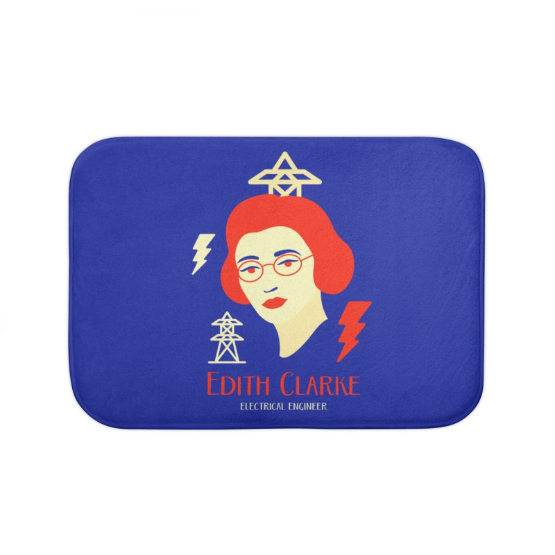 Edith Clarke Home Bath Mat by Jana Artist Shop