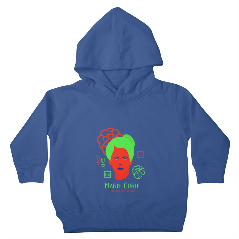 Marie Curie Kids Toddler Pullover Hoody by Jana Artist Shop