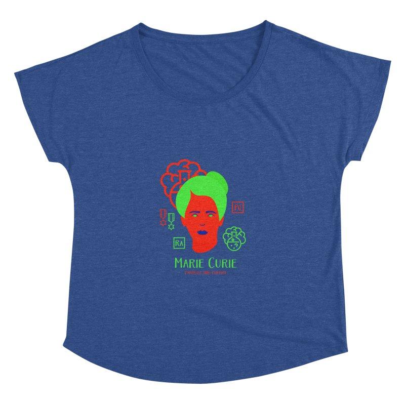 Marie Curie Women's Dolman by Jana Artist Shop