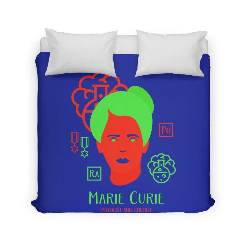 Marie Curie Home Duvet by Jana Artist Shop