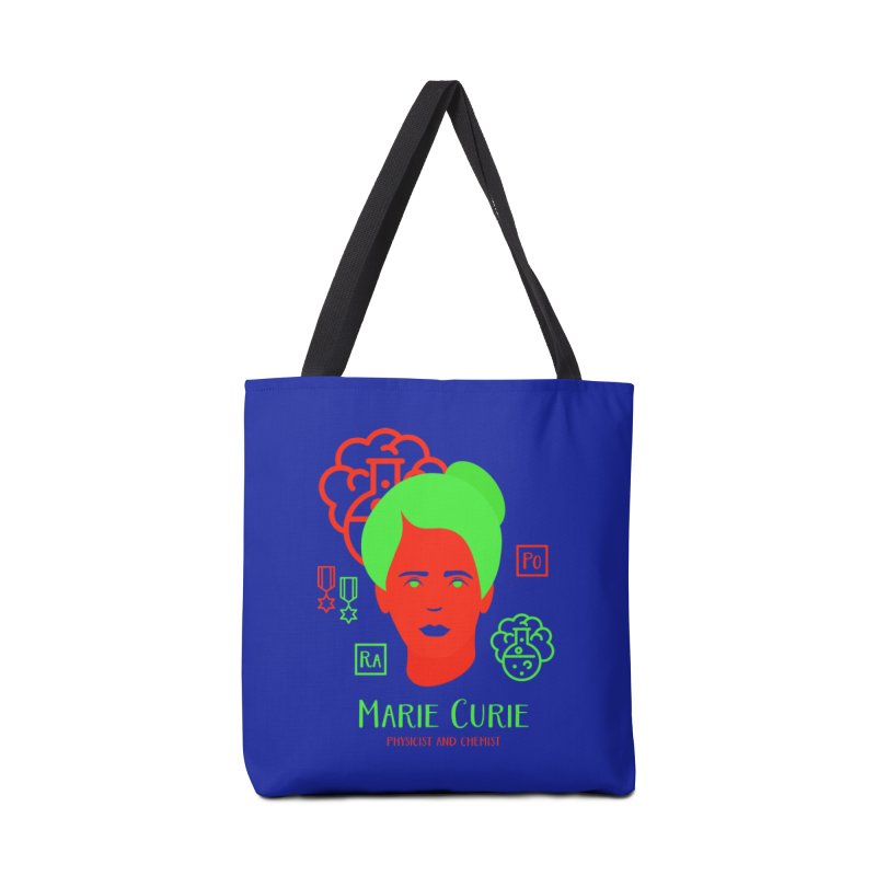 Marie Curie Accessories Tote Bag Bag by Jana Artist Shop