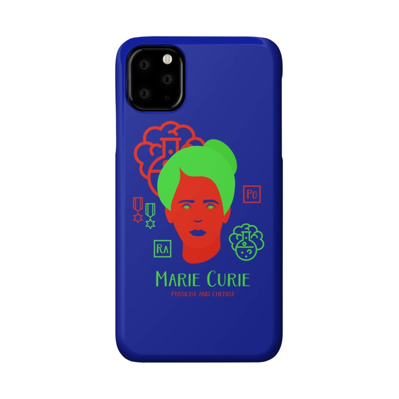 Marie Curie Accessories Phone Case by Jana Artist Shop