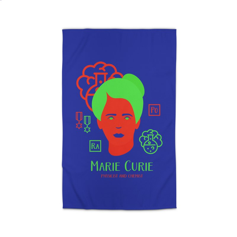 Marie Curie Home Rug by Jana Artist Shop