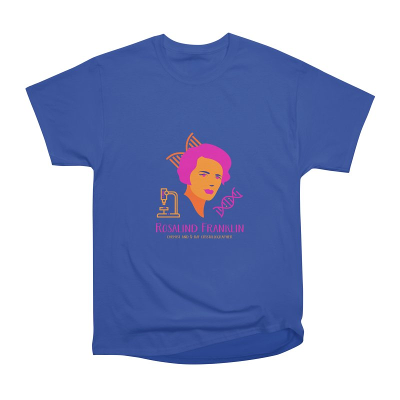 Rosalind Franklin Men's Heavyweight T-Shirt by Jana Artist Shop