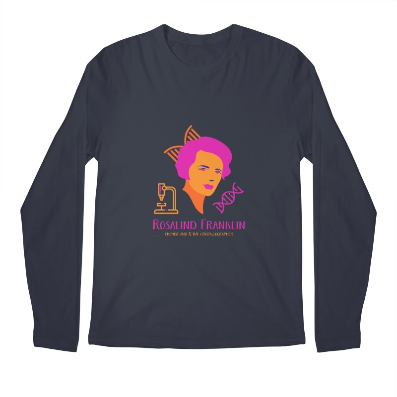 Rosalind Franklin Men's Regular Longsleeve T-Shirt by Jana Artist Shop