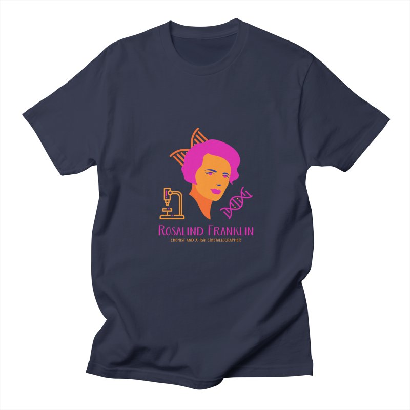 Rosalind Franklin Men's Regular T-Shirt by Jana Artist Shop
