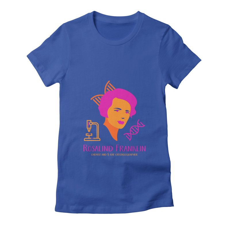 Rosalind Franklin Women's Fitted T-Shirt by Jana Artist Shop