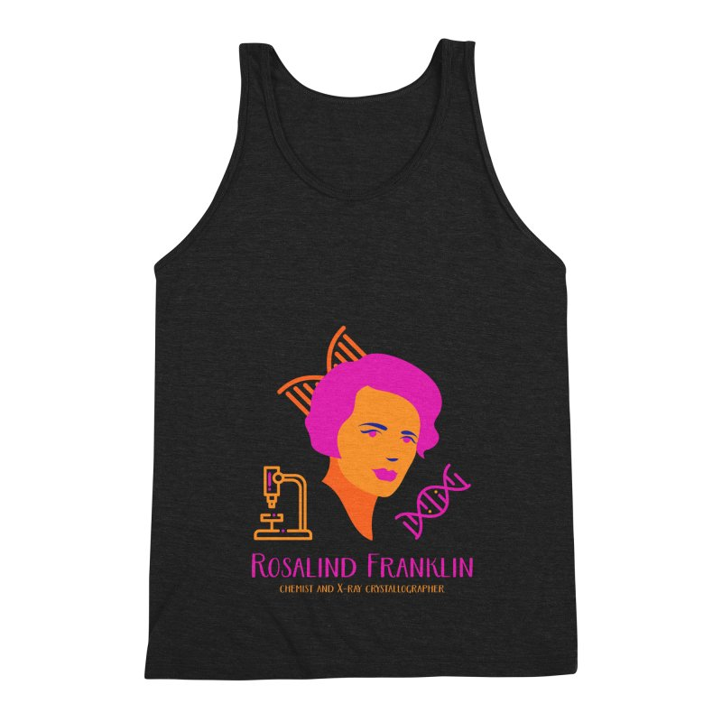 Rosalind Franklin Men's Triblend Tank by Jana Artist Shop