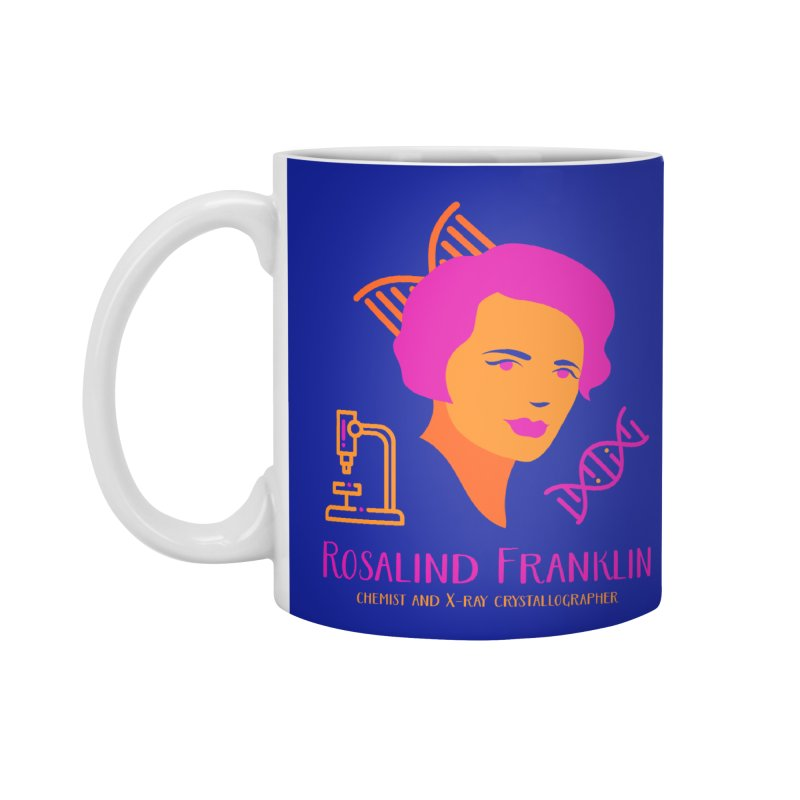 Rosalind Franklin Accessories Standard Mug by Jana Artist Shop