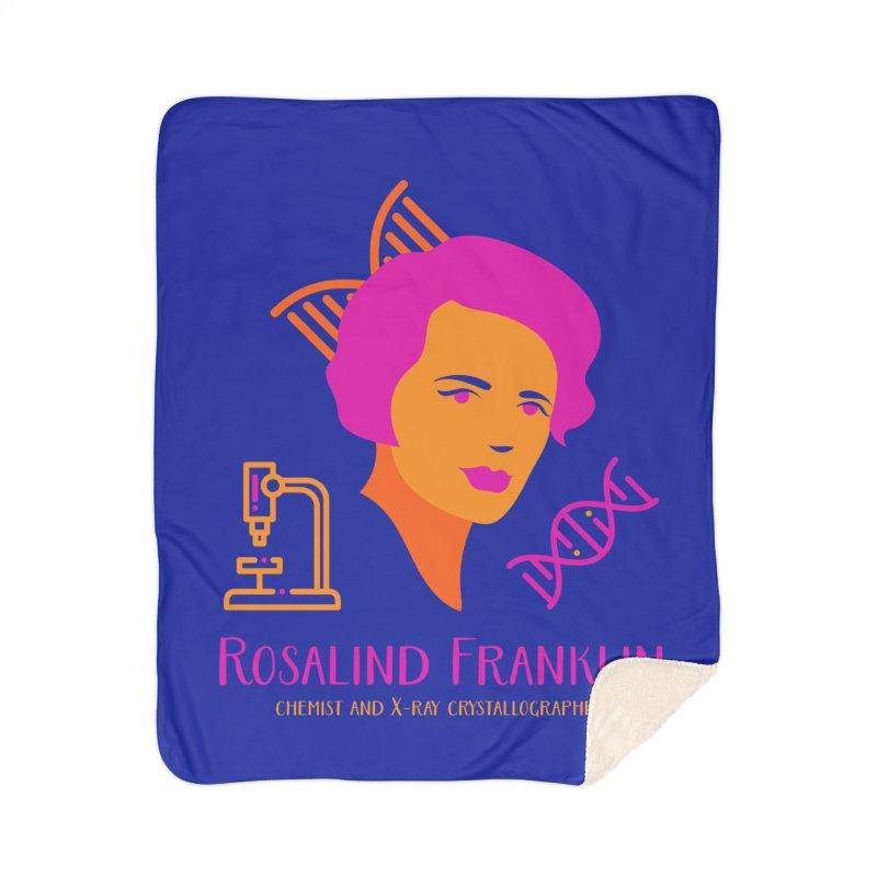 Rosalind Franklin Home Sherpa Blanket Blanket by Jana Artist Shop