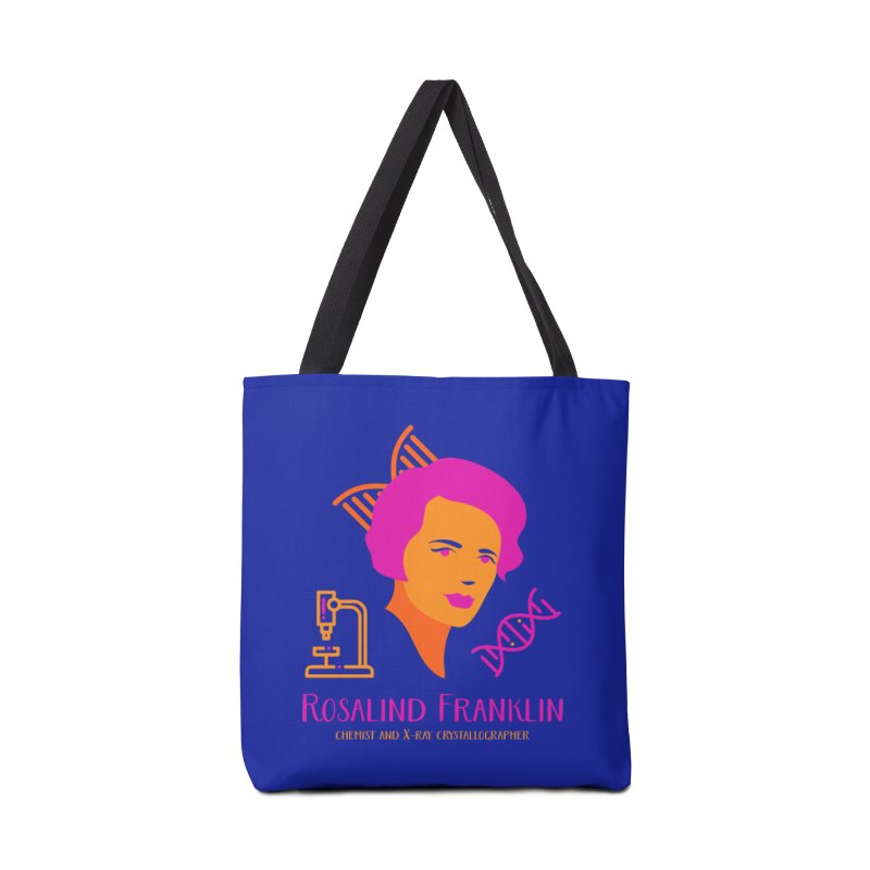 Rosalind Franklin Accessories Tote Bag Bag by Jana Artist Shop