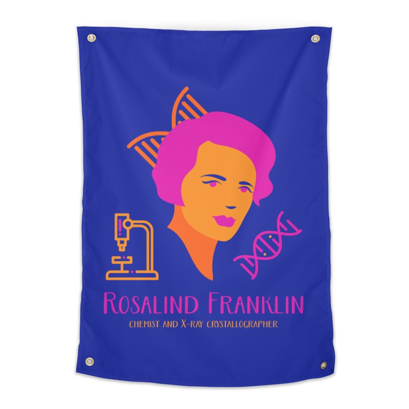 Rosalind Franklin Home Tapestry by Jana Artist Shop