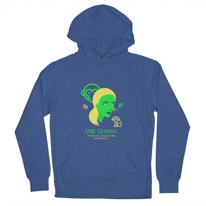 Jane Goodall Men's Pullover Hoody by Jana Artist Shop