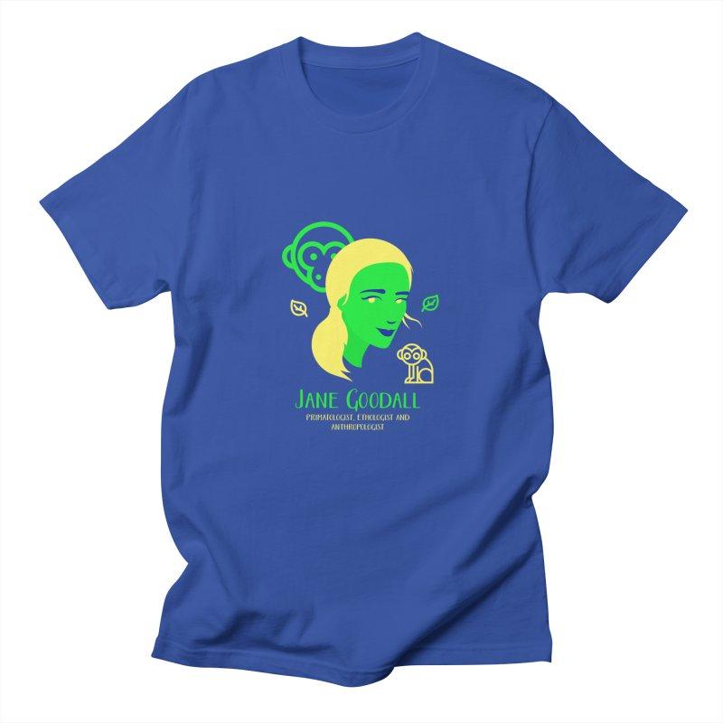 Jane Goodall Men's T-Shirt by Jana Artist Shop