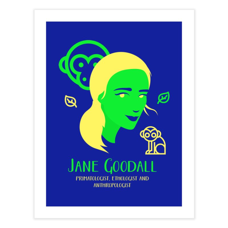 Jane Goodall Home Bath Mat by Jana Artist Shop