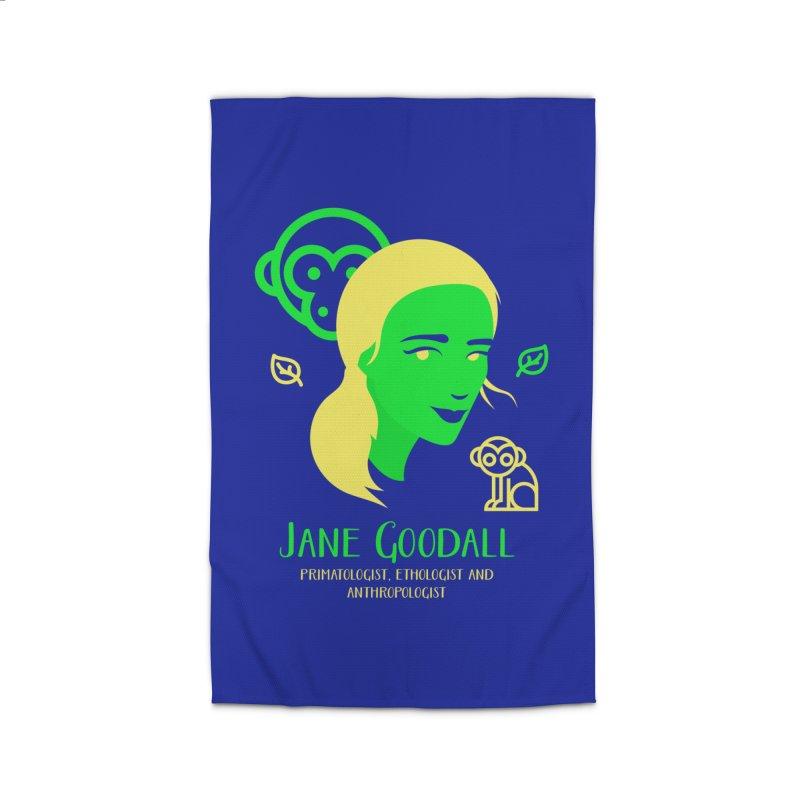 Jane Goodall Home Rug by Jana Artist Shop