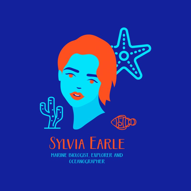 Sylvia Earle None  by Jana Artist Shop