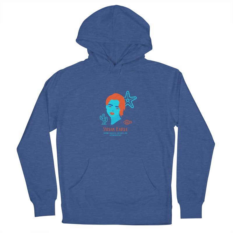Sylvia Earle Women's Pullover Hoody by Jana Artist Shop