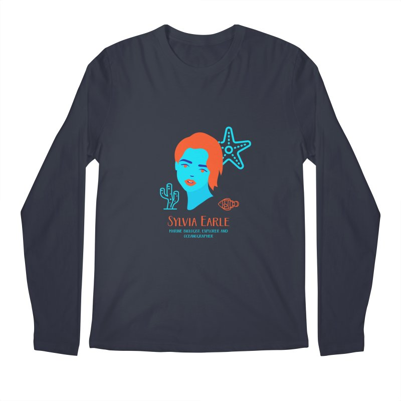 Sylvia Earle Men's Regular Longsleeve T-Shirt by Jana Artist Shop