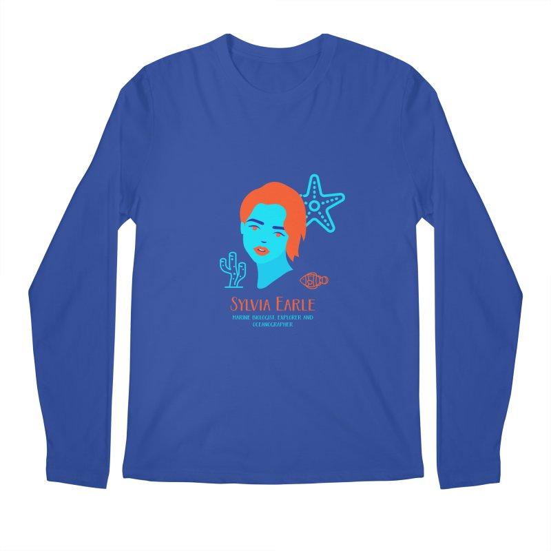 Sylvia Earle Men's Regular Longsleeve T-Shirt by Jana Artist Shop