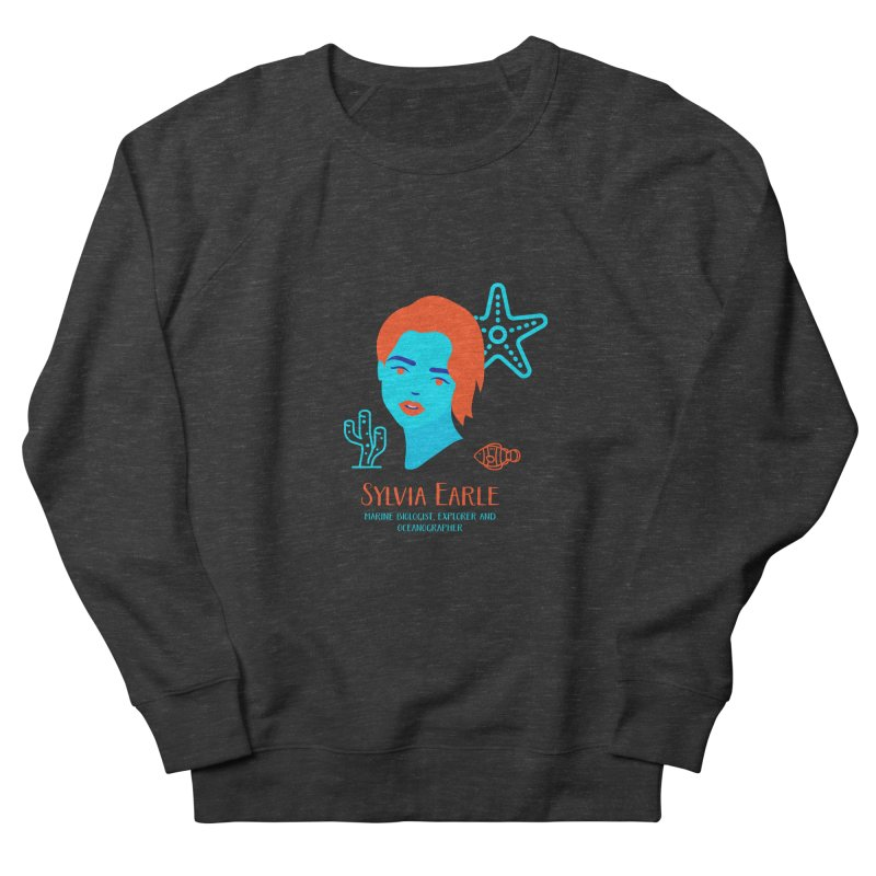 Sylvia Earle Women's French Terry Sweatshirt by Jana Artist Shop