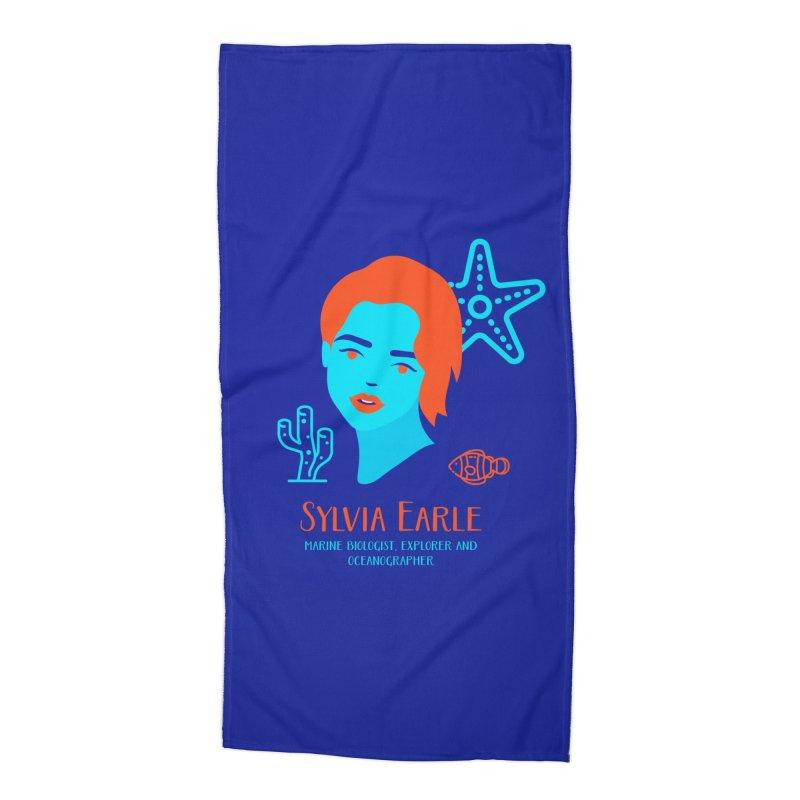 Sylvia Earle Accessories Beach Towel by Jana Artist Shop