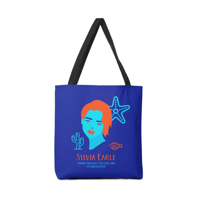 Sylvia Earle Accessories Bag by Jana Artist Shop