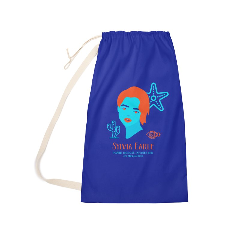 Sylvia Earle Accessories Laundry Bag Bag by Jana Artist Shop