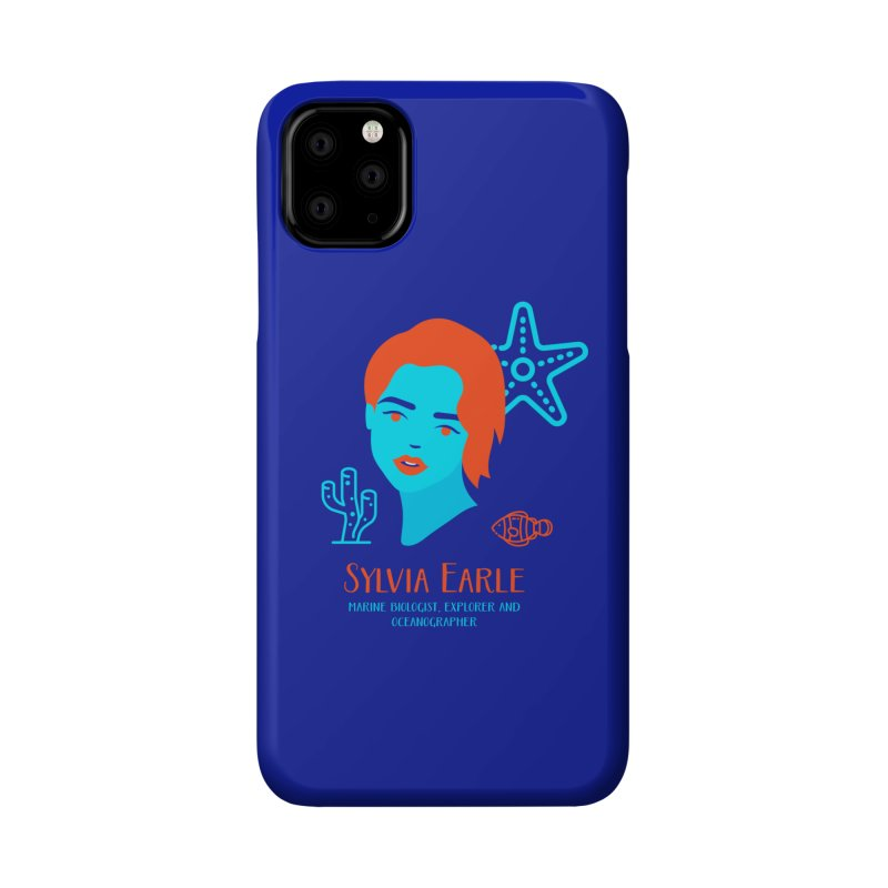 Sylvia Earle Accessories Phone Case by Jana Artist Shop