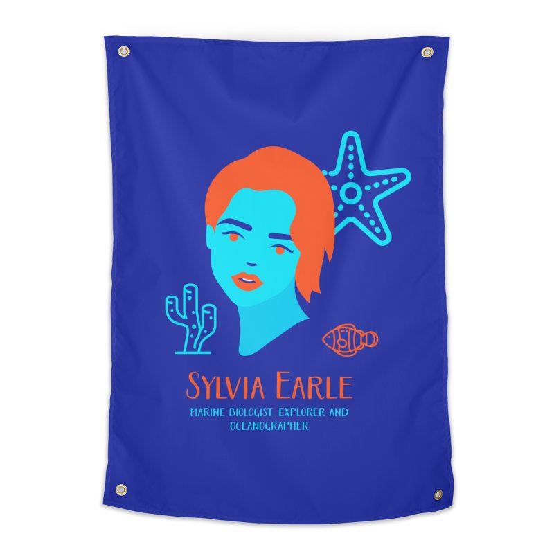 Sylvia Earle Home Tapestry by Jana Artist Shop
