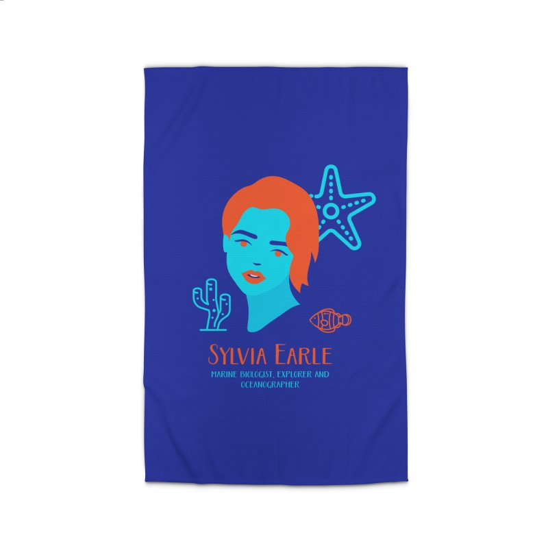 Sylvia Earle Home Rug by Jana Artist Shop