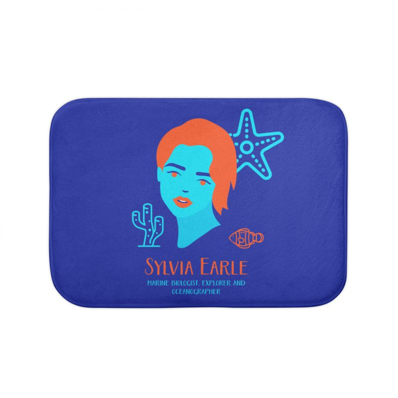 Sylvia Earle Home Bath Mat by Jana Artist Shop