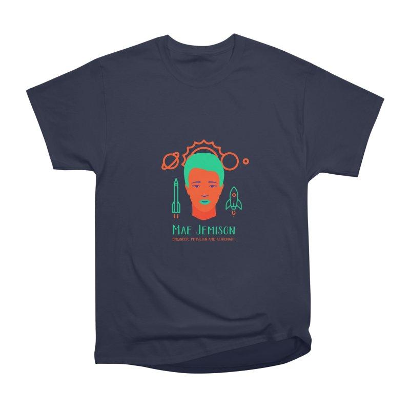 Mae Jemison Men's Heavyweight T-Shirt by Jana Artist Shop