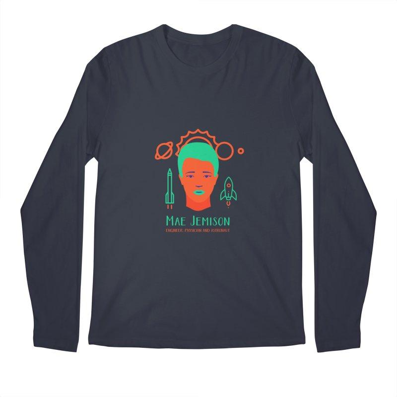Mae Jemison Men's Regular Longsleeve T-Shirt by Jana Artist Shop