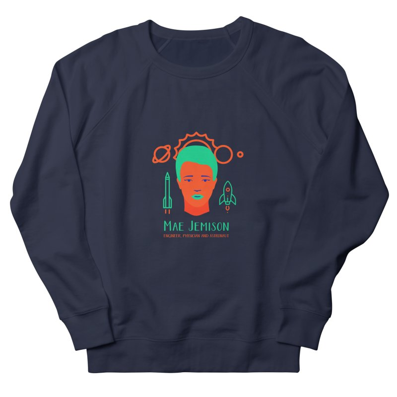 Mae Jemison Women's French Terry Sweatshirt by Jana Artist Shop
