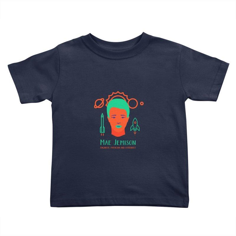 Mae Jemison Kids Toddler T-Shirt by Jana Artist Shop
