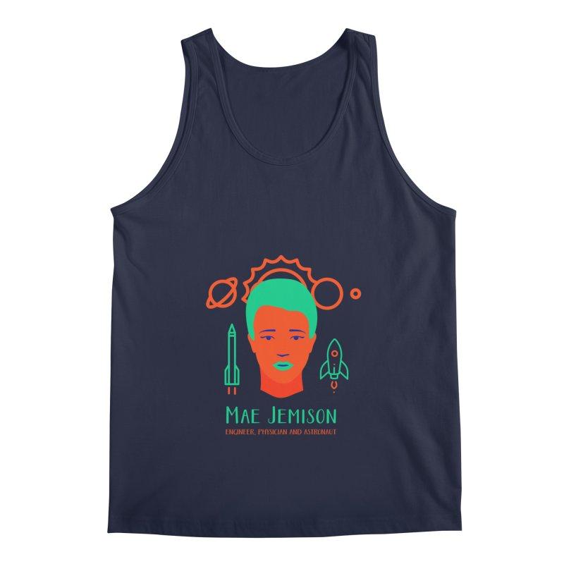 Mae Jemison Men's Tank by Jana Artist Shop