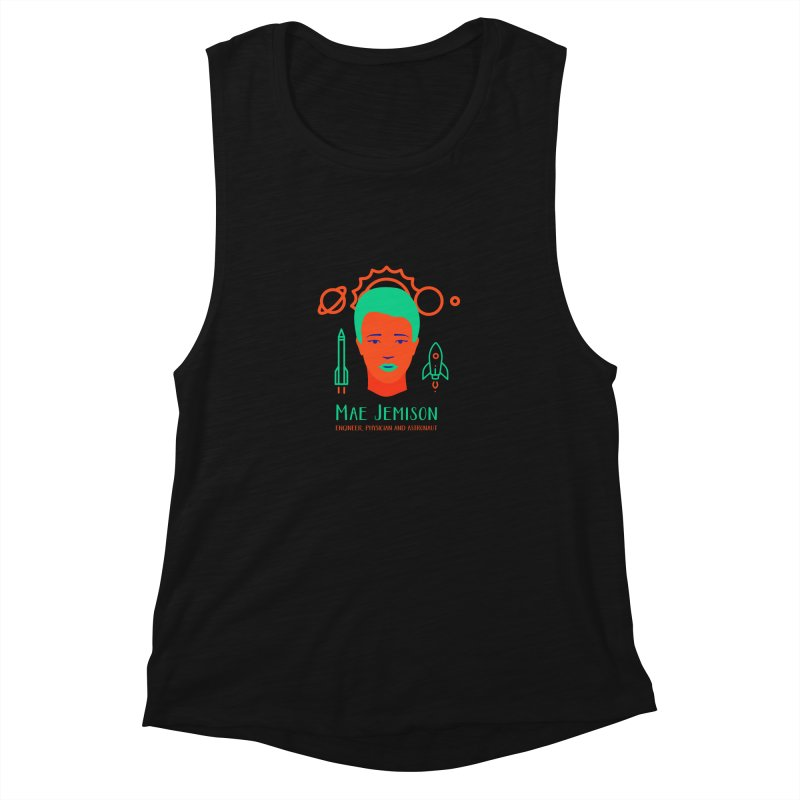 Mae Jemison Women's Muscle Tank by Jana Artist Shop